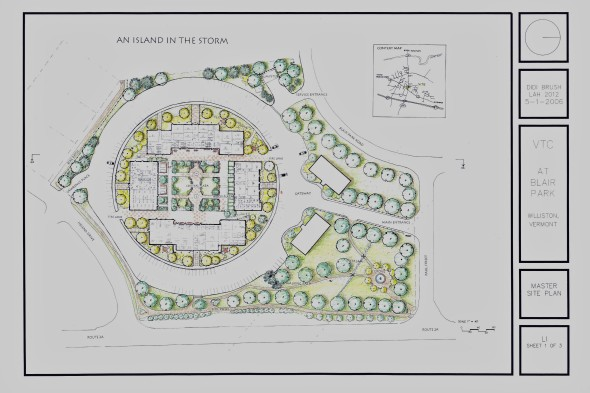 Master plan for college campus